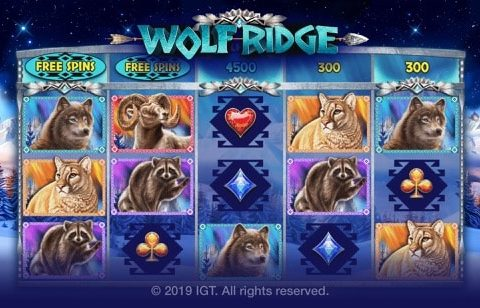 Wolf Ridge Slot Banner